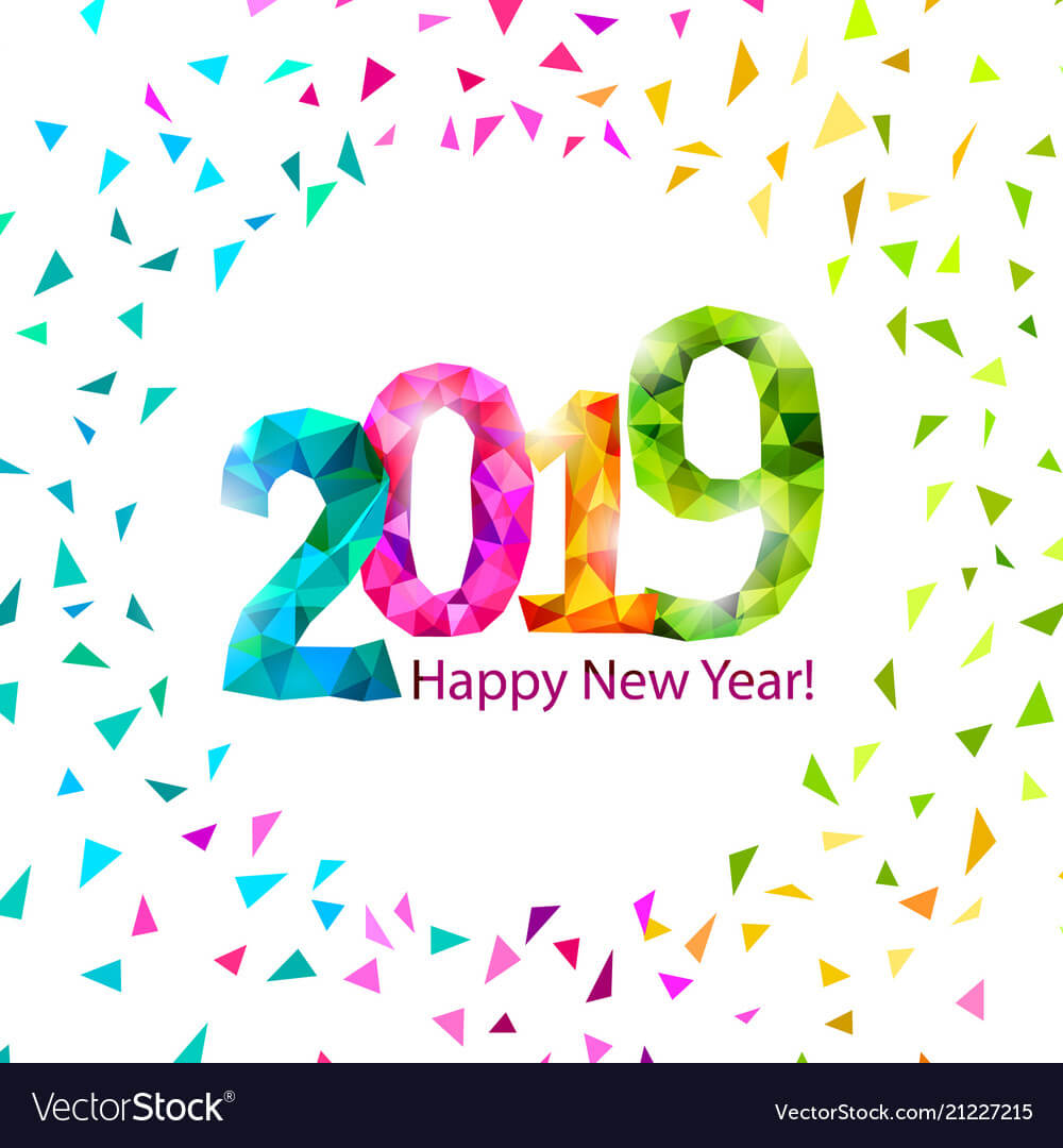 New year clipart 2019 clip art transparent stock Royalty Free Happy New Year 2019 Clipart - Clipart Junction clip art transparent stock
