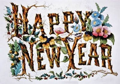 Free clipart happy new year greeting image freeuse Free Vintage Clip Art - New Year Cards | Vintage Illustrations ~ New ... image freeuse