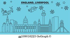 Free clipart happy new year in england clip royalty free stock Clip Art Liverpool - Royalty Free - GoGraph clip royalty free stock
