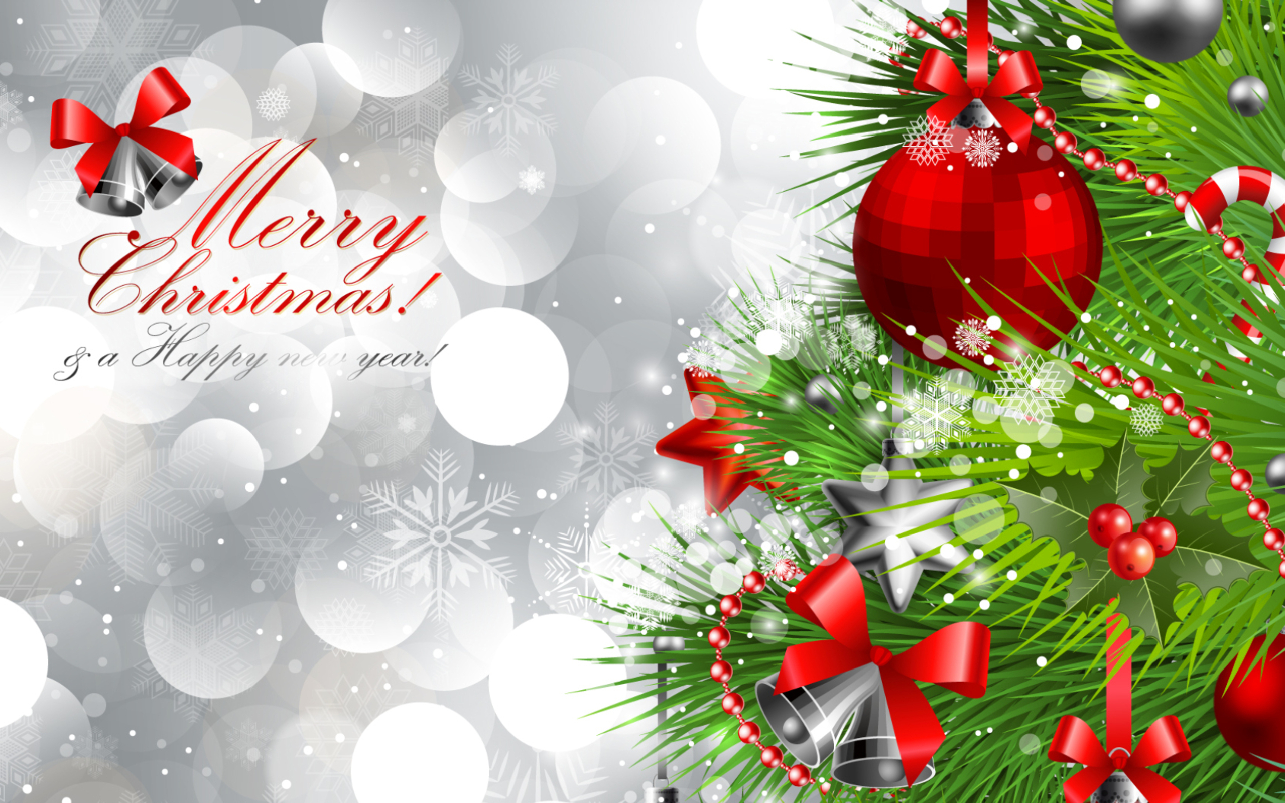 Free clipart happy new year in england graphic free Merry Christmas and Happy New Year Silver Background | Gallery ... graphic free