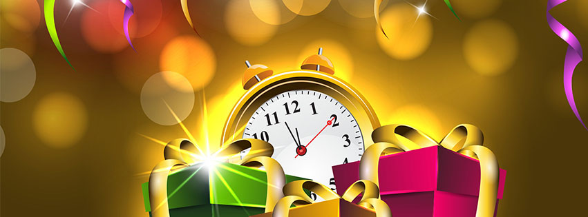 Free clipart happy new year my facebook friends vector Free New Year Facebook Covers - Clipart - Timeline - Images - 2020 vector