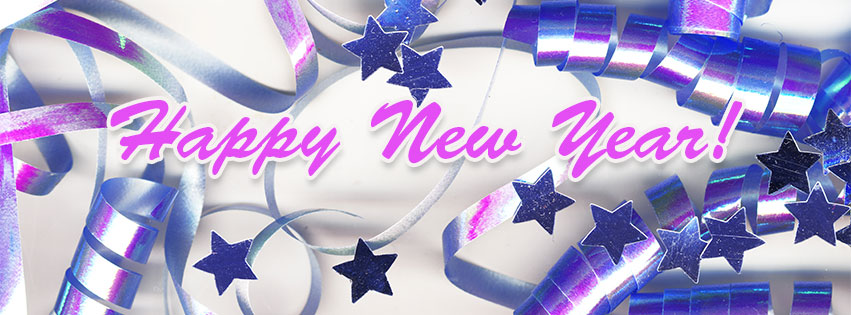 Free clipart happy new year my facebook friends png black and white Free New Year Facebook Covers - Clipart - Timeline - Images - 2020 png black and white