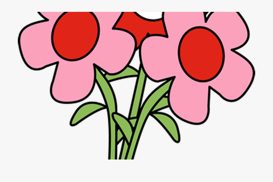 Free clipart have a good day flowers svg free Pretty Valentine\'s Day Flowers Clip Art Pretty Valentine - Happy ... svg free