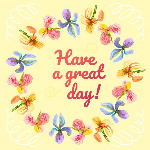Have a great day clipart free stock Have a great day bacgkround Vector | Free Download stock