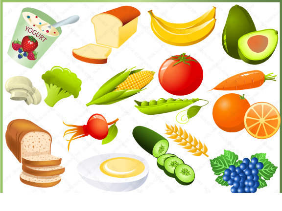 Free clipart healthy eating clipart free Free Nutritious Food Clipart Healthy Breakfast Meal - Clipart1001 ... clipart free