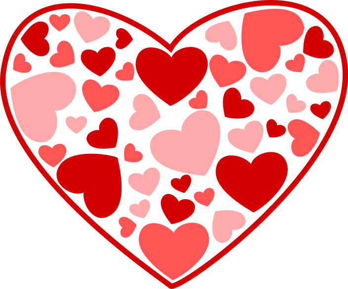 Valentine hearts free clipart clip transparent stock Free Valentine Heart Cliparts, Download Free Clip Art, Free Clip Art ... clip transparent stock