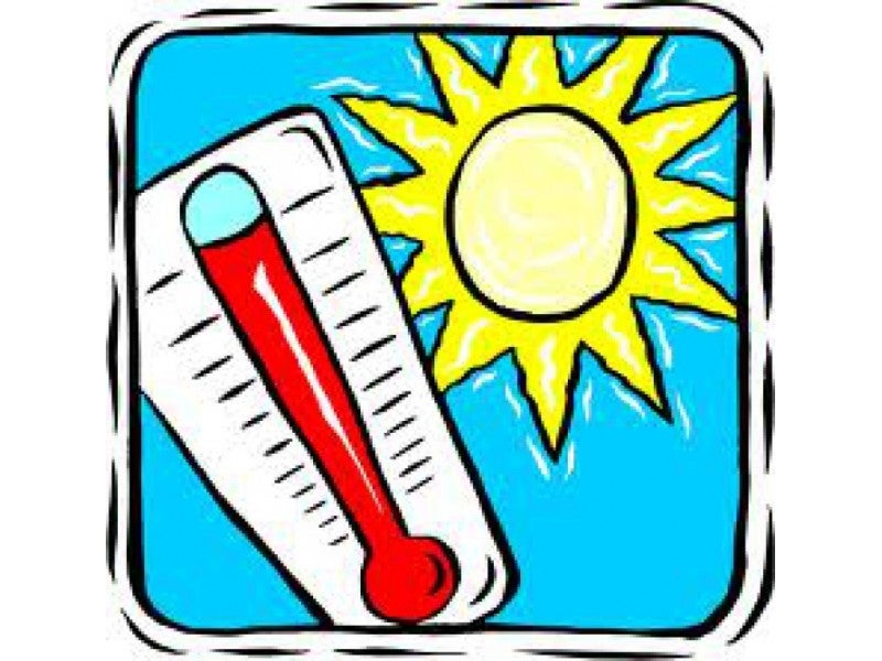 Free clipart heat wave banner Free New York Sports Clubs Access During Heat Wave | Montclair, NJ Patch banner