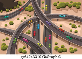 Free clipart highway clipart royalty free stock Highway Clip Art - Royalty Free - GoGraph clipart royalty free stock