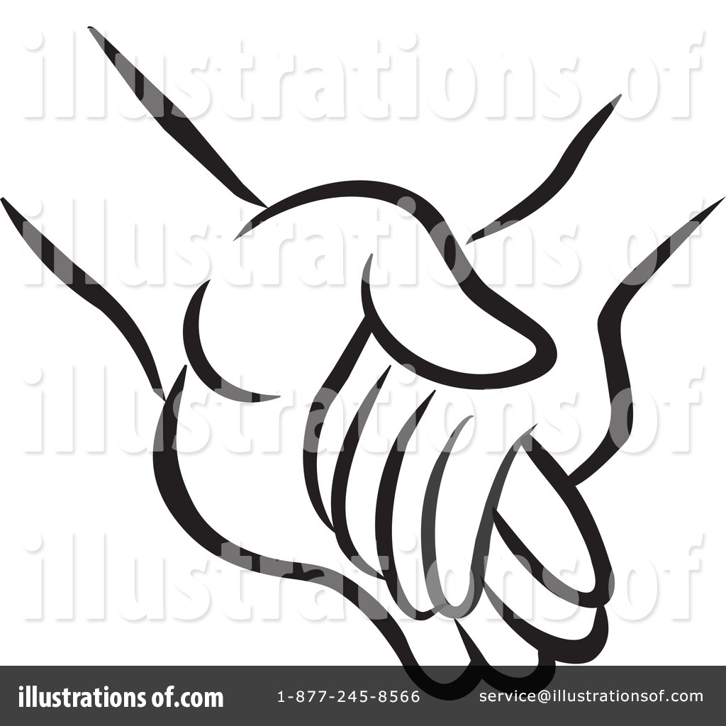 Free clipart holding hands images picture freeuse stock Holding Hands Clipart #1194986 - Illustration by Johnny Sajem picture freeuse stock
