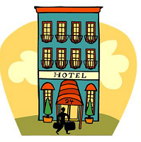 Cliparts download clip art. Free clipart hotel