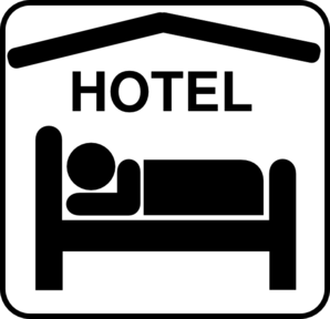 Hotel symbol clipart graphic black and white Free Hotel Cliparts, Download Free Clip Art, Free Clip Art on ... graphic black and white