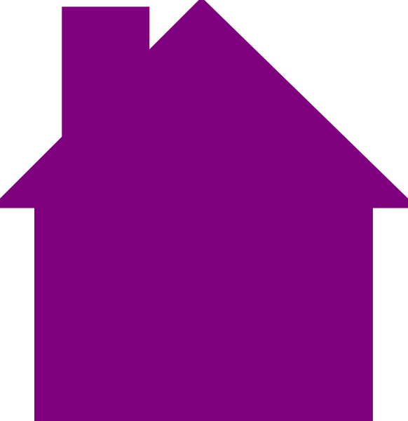 Free clipart house outline picture library download House Logo Purple Clip Art at Clker.com - vector clip art online ... picture library download