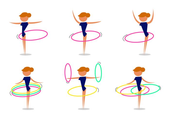 Free clipart hula hoop freeuse download Hula Hoop Free Vector Art - (118 Free Downloads) freeuse download