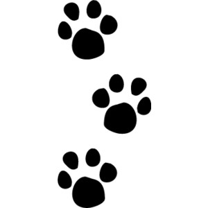 Grizzly bear images clipartcow. Free clipart image of a paw print