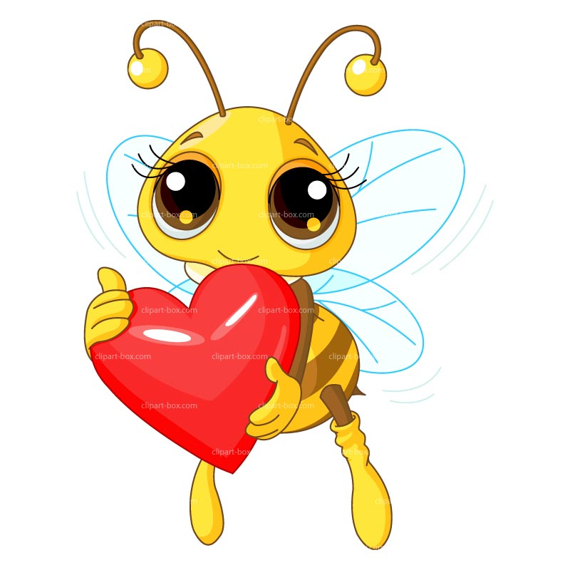 Free clipart images bees hearts graphic library download I Love Clipart - Clipart Kid graphic library download