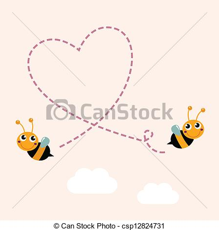 Free clipart images bees hearts clip art library stock Flying bees Stock Illustrations. 10,083 Flying bees clip art ... clip art library stock