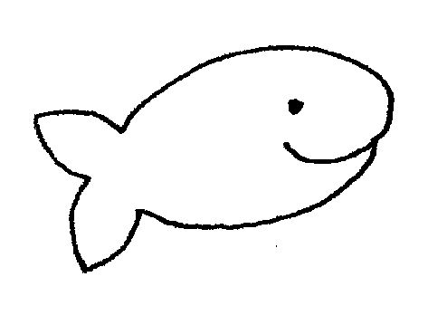 Free clipart images black and white fish jpg library Cute Fish Clip Art Black And White | Clipart Panda - Free Clipart ... jpg library