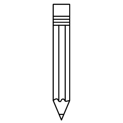 Free clipart images black and white pencil banner freeuse stock Free Images Of A Pencil, Download Free Clip Art, Free Clip Art on ... banner freeuse stock