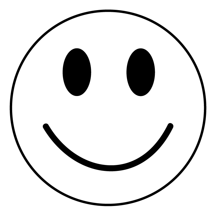 Smiley face outline clipart image free Smiley Face Clipart Black And White | Clipart Panda - Free Clipart ... image free