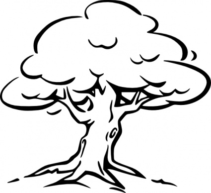 Free clipart images black and white tree jpg black and white stock Free Black And White Images Of Trees, Download Free Clip Art, Free ... jpg black and white stock