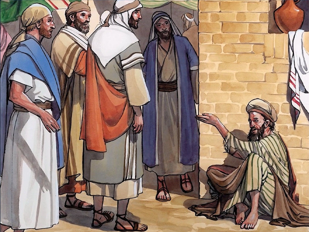 Free clipart images blind man of john 9 vector transparent library FreeBibleimages :: Jesus heals a man born blind :: When Jesus heals ... vector transparent library