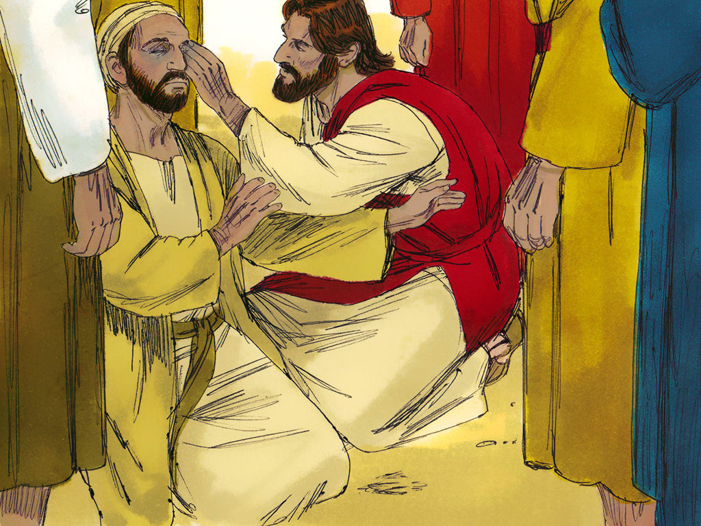Free clipart images blind man of john 9 svg freeuse stock FreeBibleimages :: Jesus heals a man born blind :: Jesus heals a man ... svg freeuse stock
