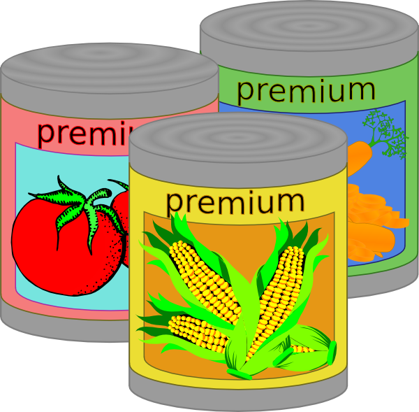 Free clipart images canned food banner stock Download Canned Food At Vector Clipart Clipart PNG Free | FreePngClipart banner stock
