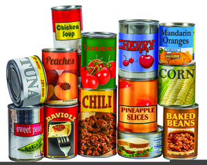 Free clipart images canned food clip art library Canned Goods Clipart | Free Images at Clker.com - vector clip art ... clip art library