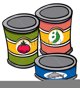 Free clipart images canned food clipart freeuse Clipart Of Cans Of Food | Free Images at Clker.com - vector clip art ... clipart freeuse