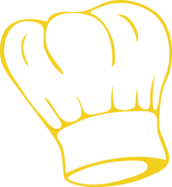 Free clipart images chef royalty free library Chef Hat Gold Clip Art at Clker.com - vector clip art online ... royalty free library