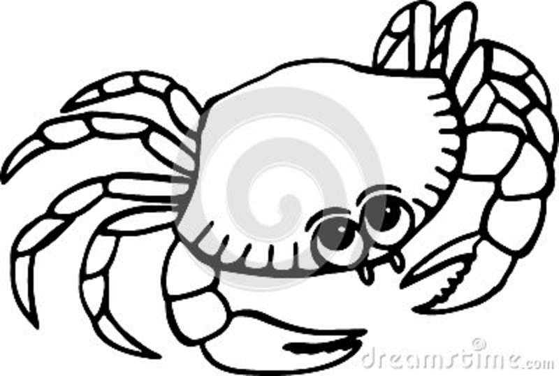 Free clipart images crab black and white image download Crab Clipart Black And White | Clipart Panda - Free Clipart Images image download