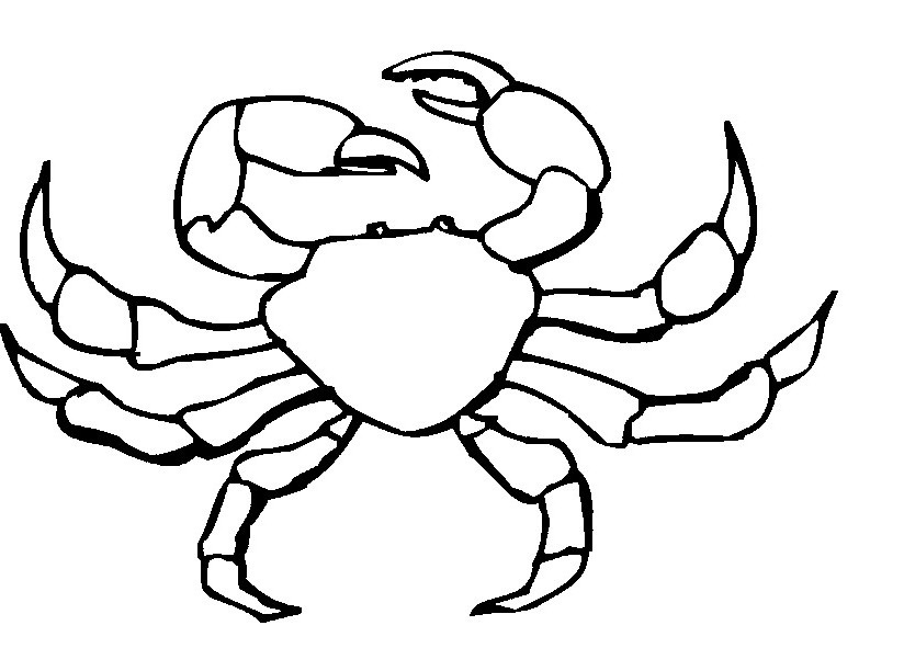 Free clipart images crab black and white graphic black and white stock Free Free Crab Clipart, Download Free Clip Art, Free Clip Art on ... graphic black and white stock