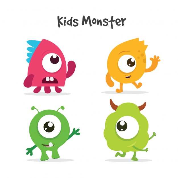 Free clipart images download png transparent library Monster Vectors, Photos and PSD files | Free Download png transparent library