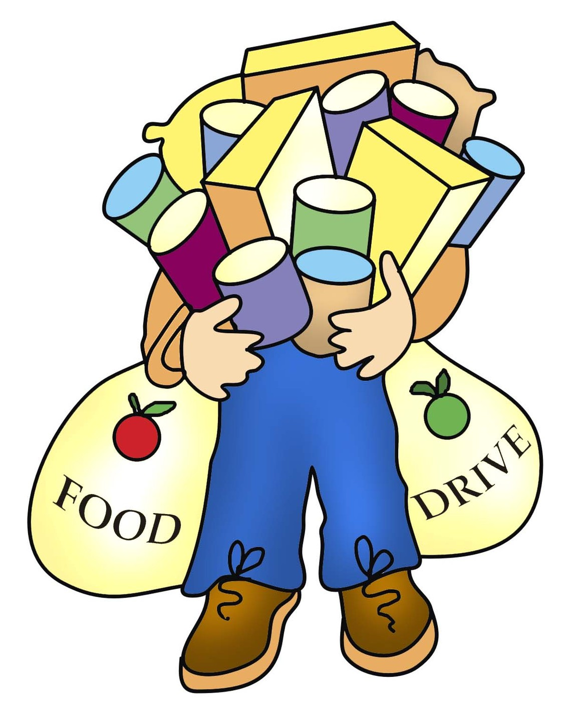 Free clipart images food bank graphic free stock Food Drive Clipart & Food Drive Clip Art Images - ClipartALL.com graphic free stock