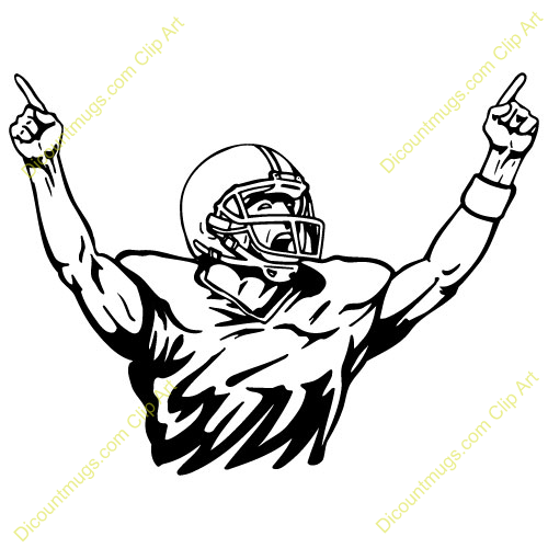 Free clipart images football player graphic library stock Best Football Player Clipart #20915 - Clipartion.com graphic library stock