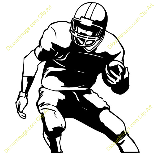 Free clipart images football player png royalty free stock Football Player Clipart Black And White Free | Clipart Panda - Free ... png royalty free stock