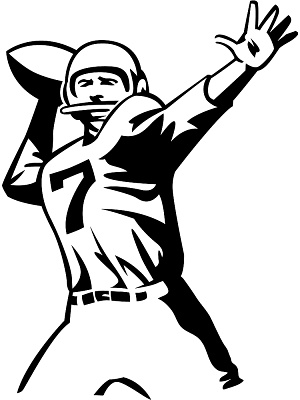 Free clipart images football player. Clip art image clipartbarn