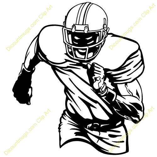 Free clipart images football player png freeuse download American Football Player Clipart | Clipart Panda - Free Clipart Images png freeuse download