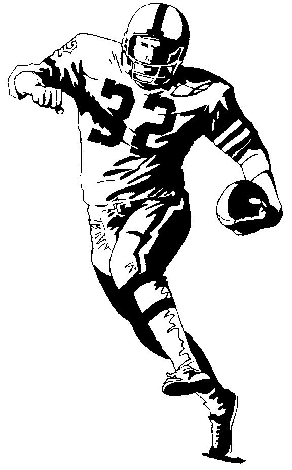 Free clipart images football player