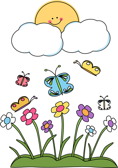 Free clipart images garden flowers sesonal
