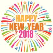 Free clipart images happy new year 2018 banner library library Happy New Year 2018 Clip Art - Royalty Free - GoGraph banner library library