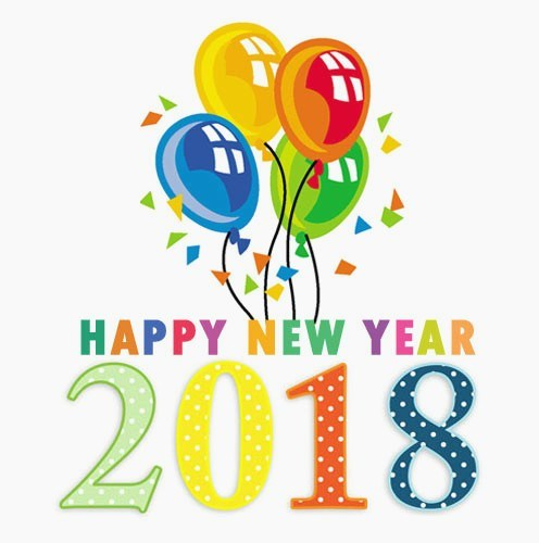 Free clipart images happy new year 2018 jpg free stock Happy New Year 2018 clipart images free clip art banner for new ... jpg free stock