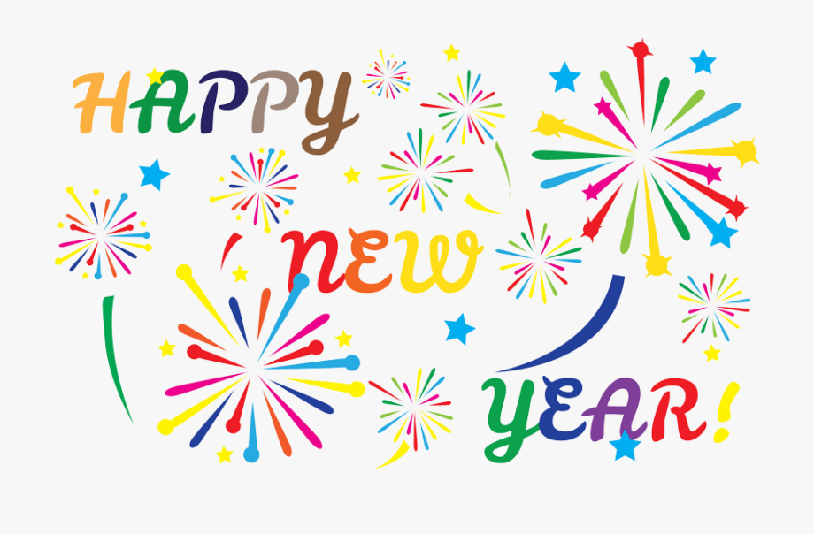 Free new years 2018 clipart. Graphic transparent library year