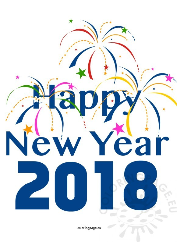 Free new years 2018 clipart. Happy download best