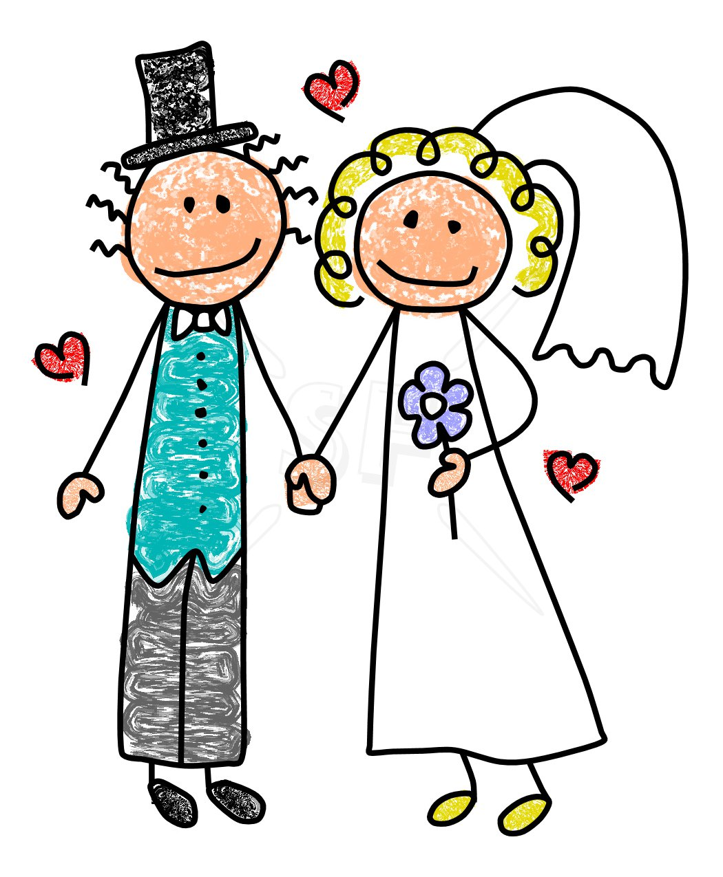 Free clipart images library download vector transparent download Bride And Groom Art | Free Download Clip Art | Free Clip Art | on ... vector transparent download