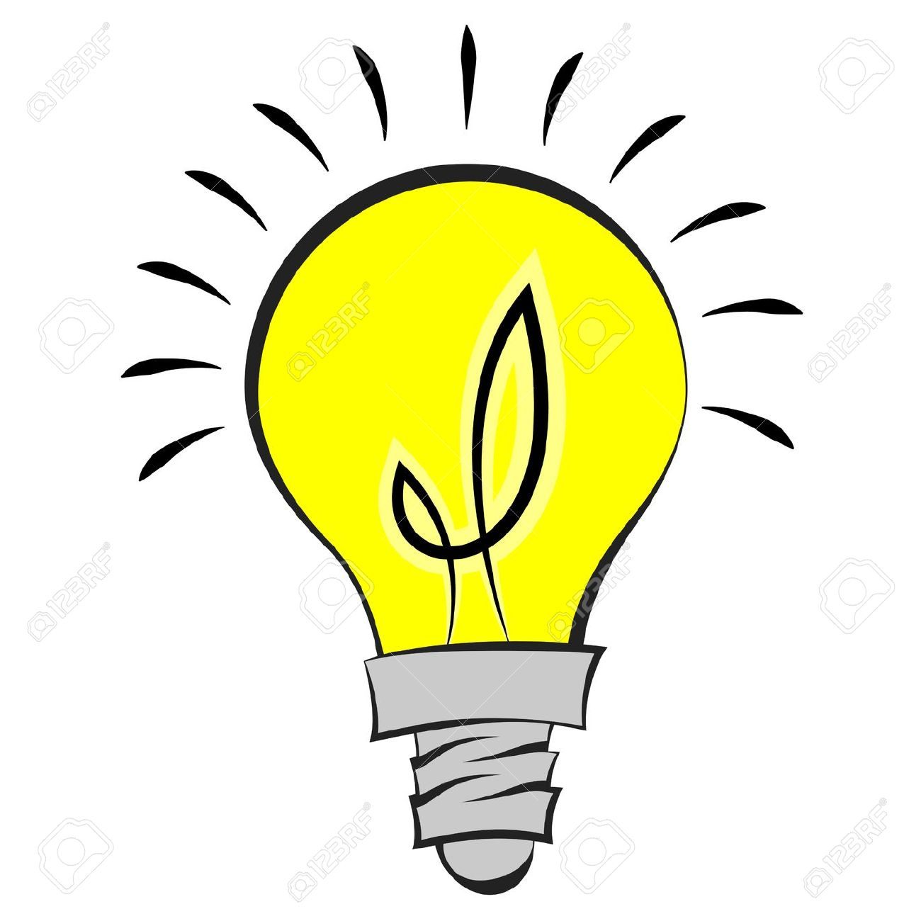 Light clipart pic graphic royalty free stock Best Light Bulb Clipart Images #7171 - Clipartion.com graphic royalty free stock