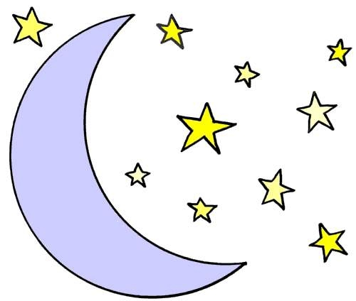 Stars & moon clipart vector royalty free library Stars Clipart Free | Free download best Stars Clipart Free on ... vector royalty free library