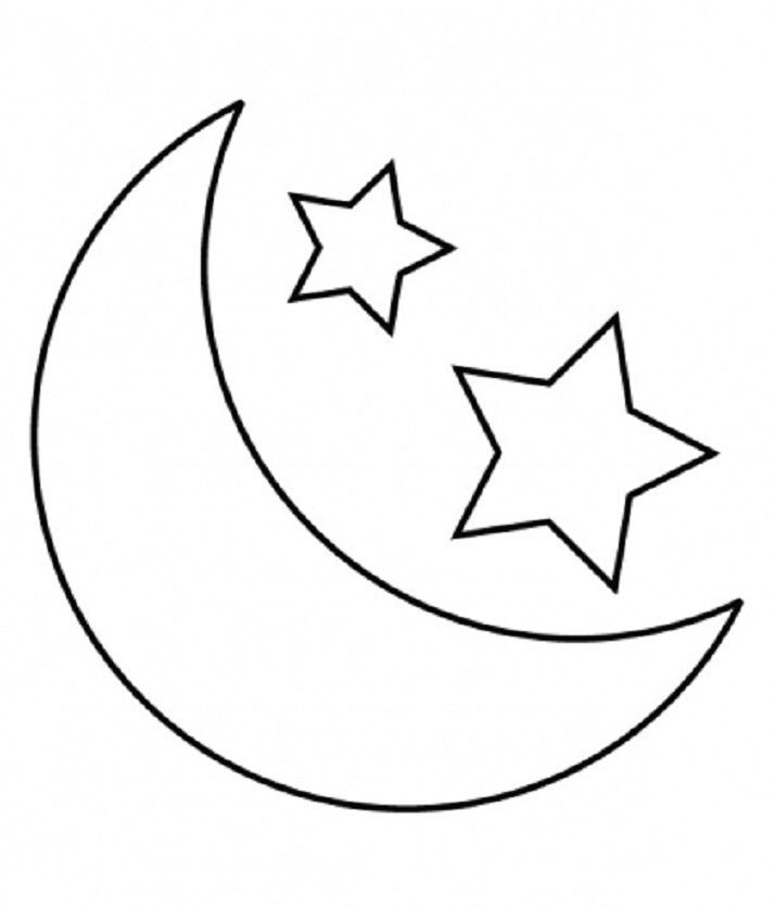 Stars Coloring Page Stock Vectors, Images & Vector Art | Shutterstock | 835x714