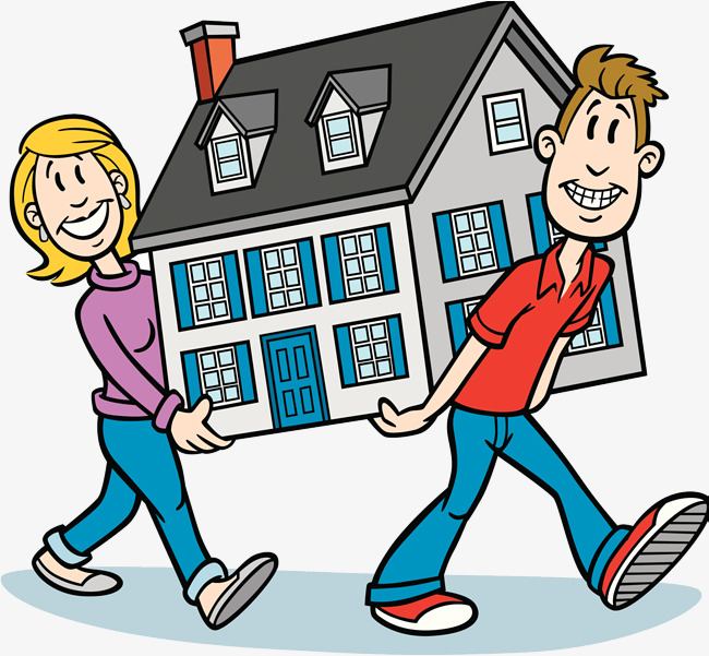 Free clipart images moving house picture transparent download Cartoon Moving, Moving Clipart, Move Som #303197 - PNG Images - PNGio picture transparent download