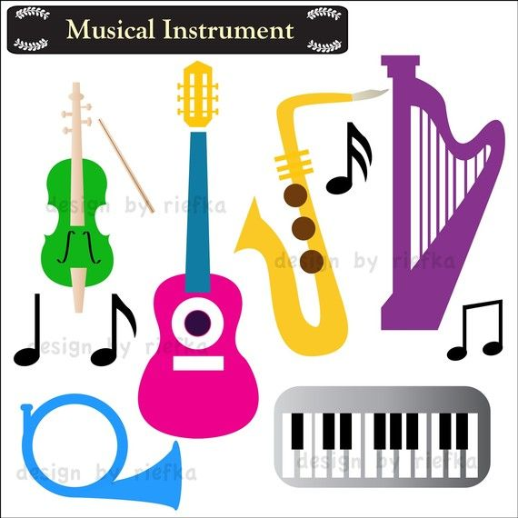 Free clipart images musical instruments. Instrument clip art by